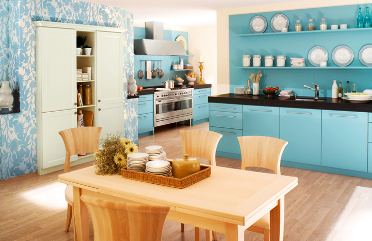 blue kitchens from some of europe s top kitchen makers enjoy the