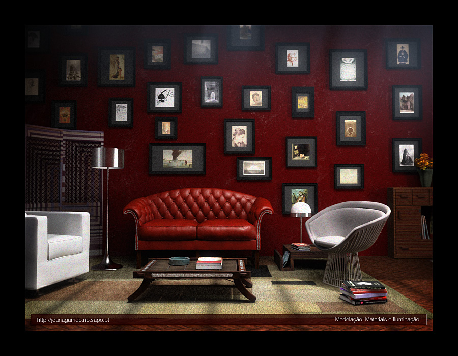 28 Red and White Living Rooms – Red Walls Living Room