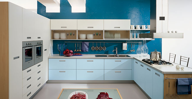 Gentil Blue Kitchen