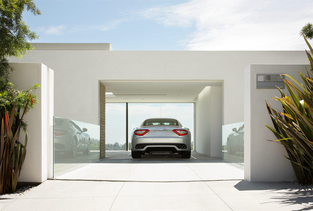Garage design contest by maserati for Garage home designs