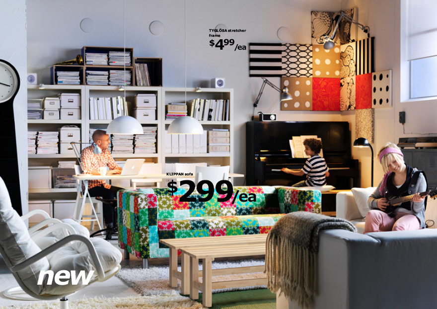 Ikea 2010 catalog for Fun living room furniture