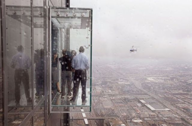 Amazing Balconies Of Willis Tower Formerly Sears Tower