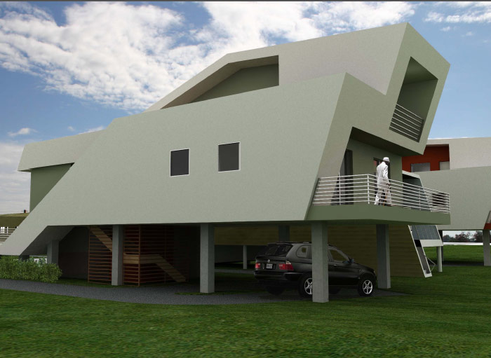 Sustainable Home Designs For Sustainable Homes For Katrina Victims From Brad Pitt