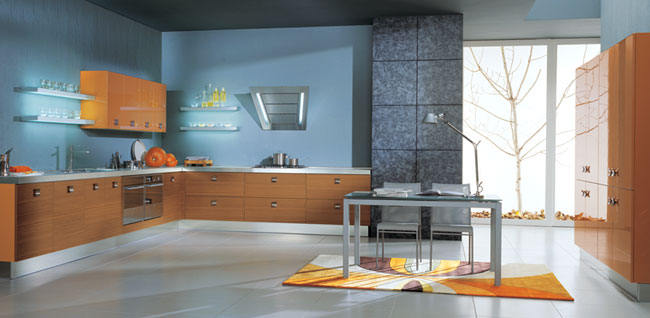 blue kitchen colors. vitali cucine blue kitchen color Blue kitchens