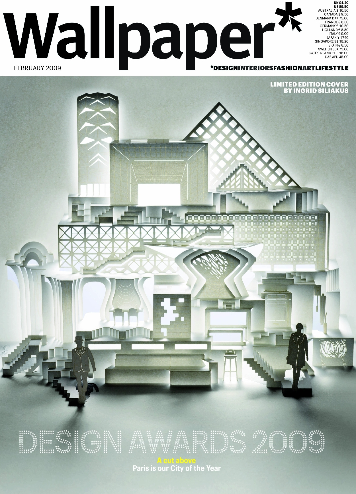 wallpaper magazine cover - Design Architecture Magazine