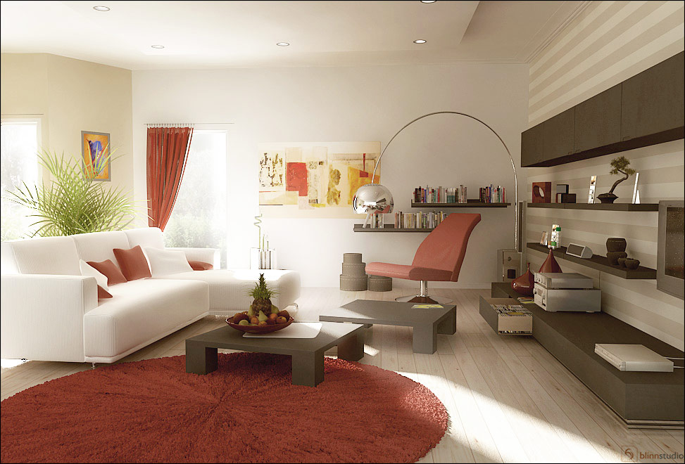 white couch living room. white sofa set  via chinese living room 28 Red and White Living Rooms