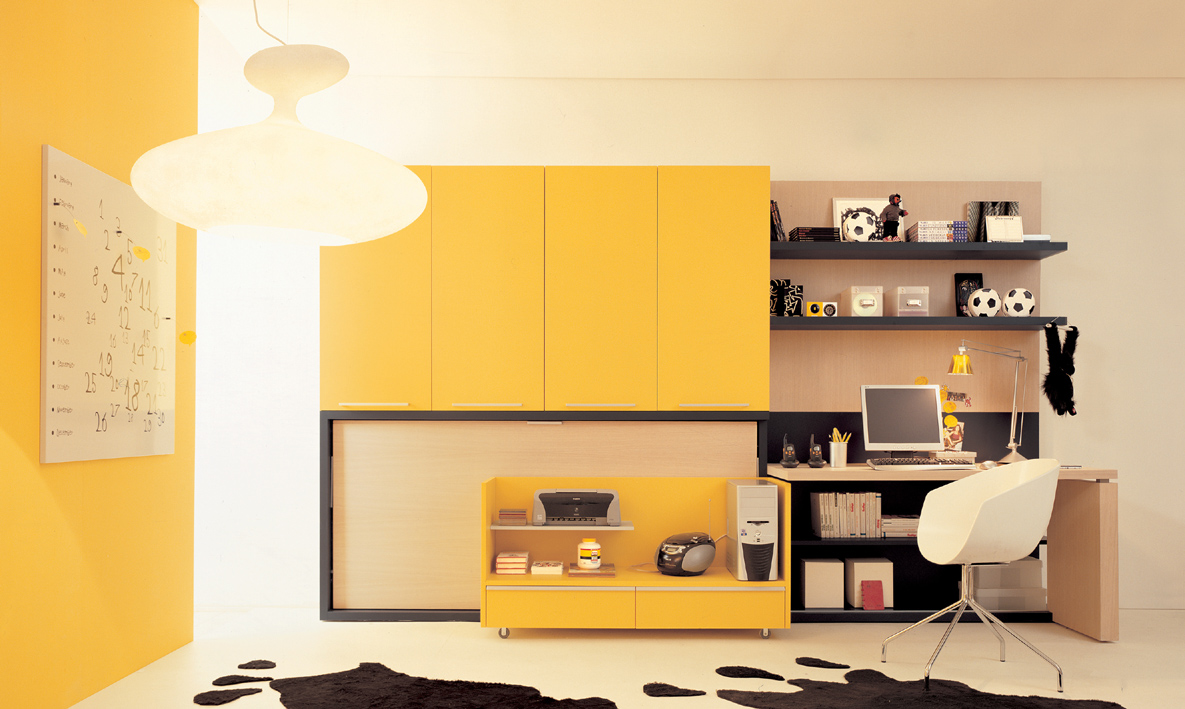 Ideas for teen rooms with small space Dresser designs for small space