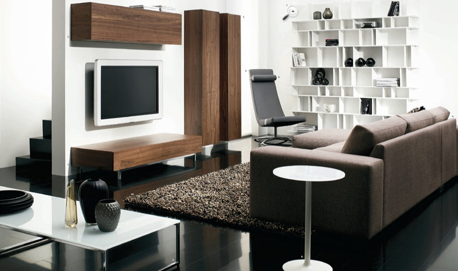 contemporary living room - Contemporary Living Room Furniture