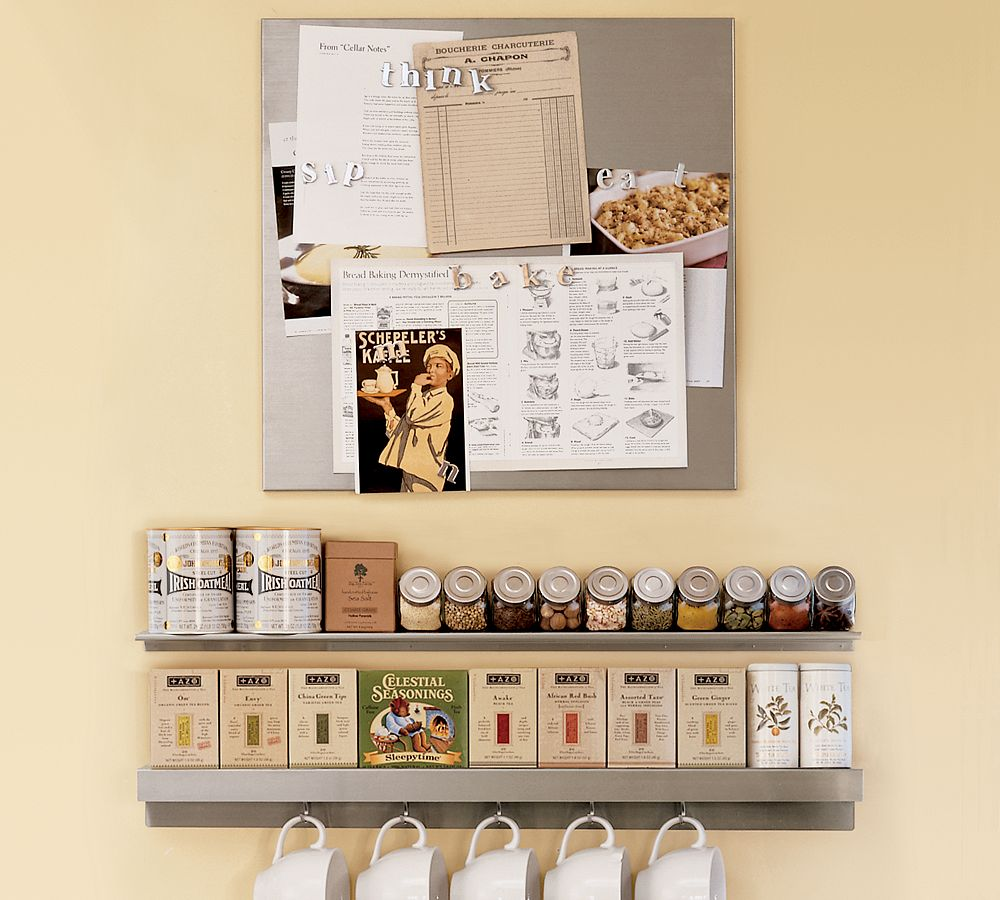 Home storage and organization furniture for Small kitchen wall art