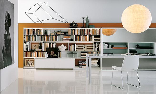 Home library design - Home office library design ideas ...