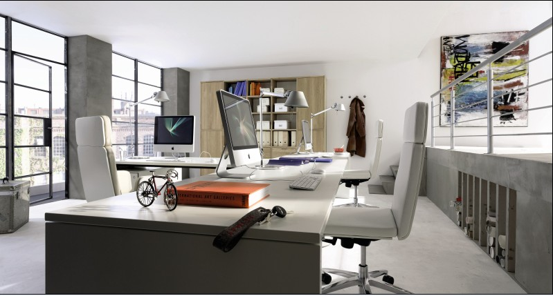 Home office furniture by hulsta for Office working area design