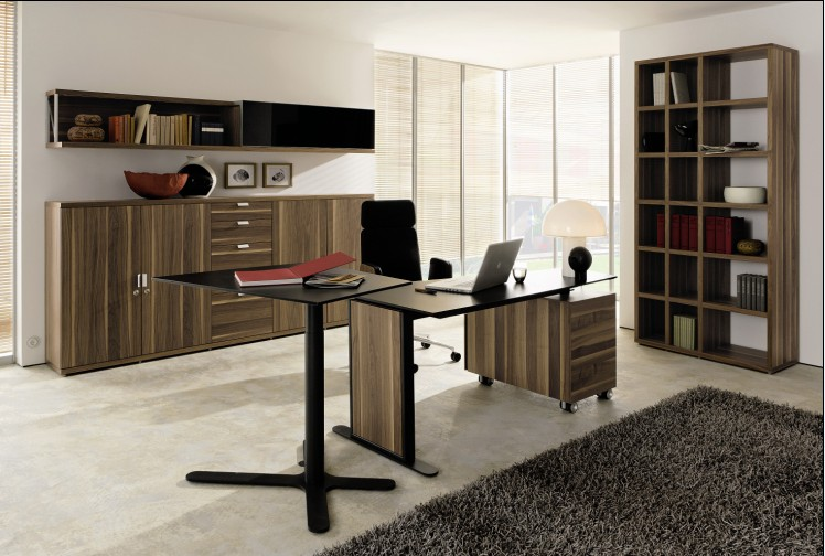 Home office furniture by hulsta for Contemporary home office furniture