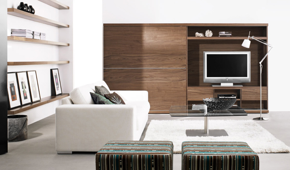 Contemporary Living Room Furniture - Modern style living room furniture