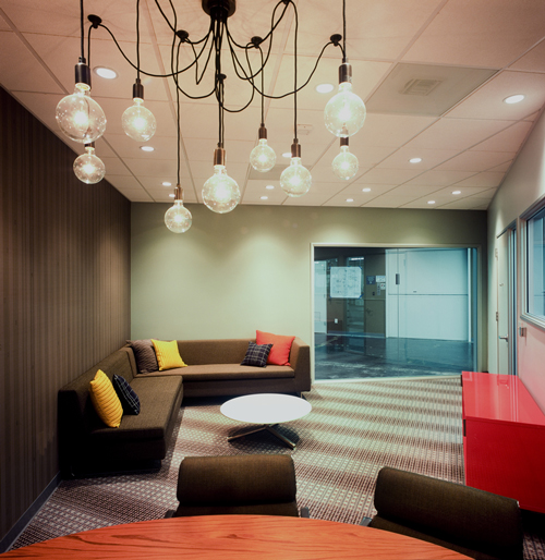 Ultra Cool Fun Creative Interior Design: Facebook's New Cool Office