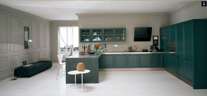 Modular kitchens from comprex for Italian modular kitchen