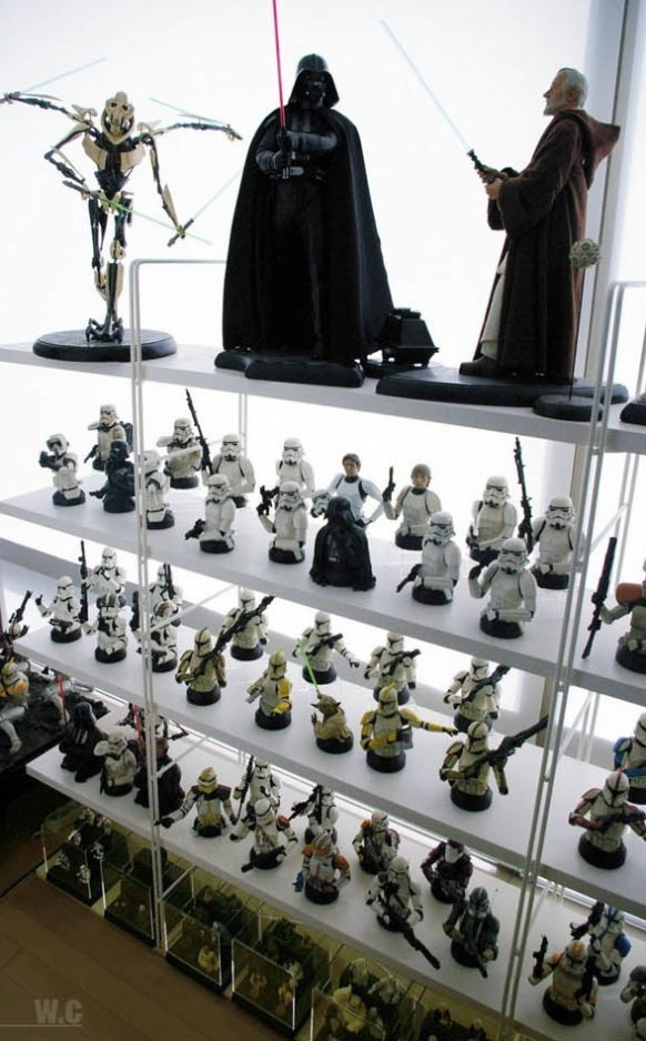 Ultimate star wars room decor for Decoration action