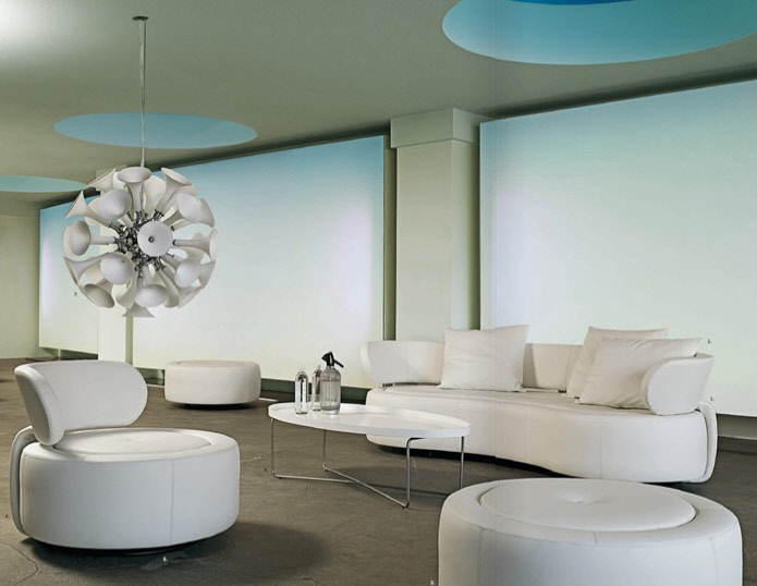 Living Room Sets Modern contemporary living room furniture. giessegi modular living room