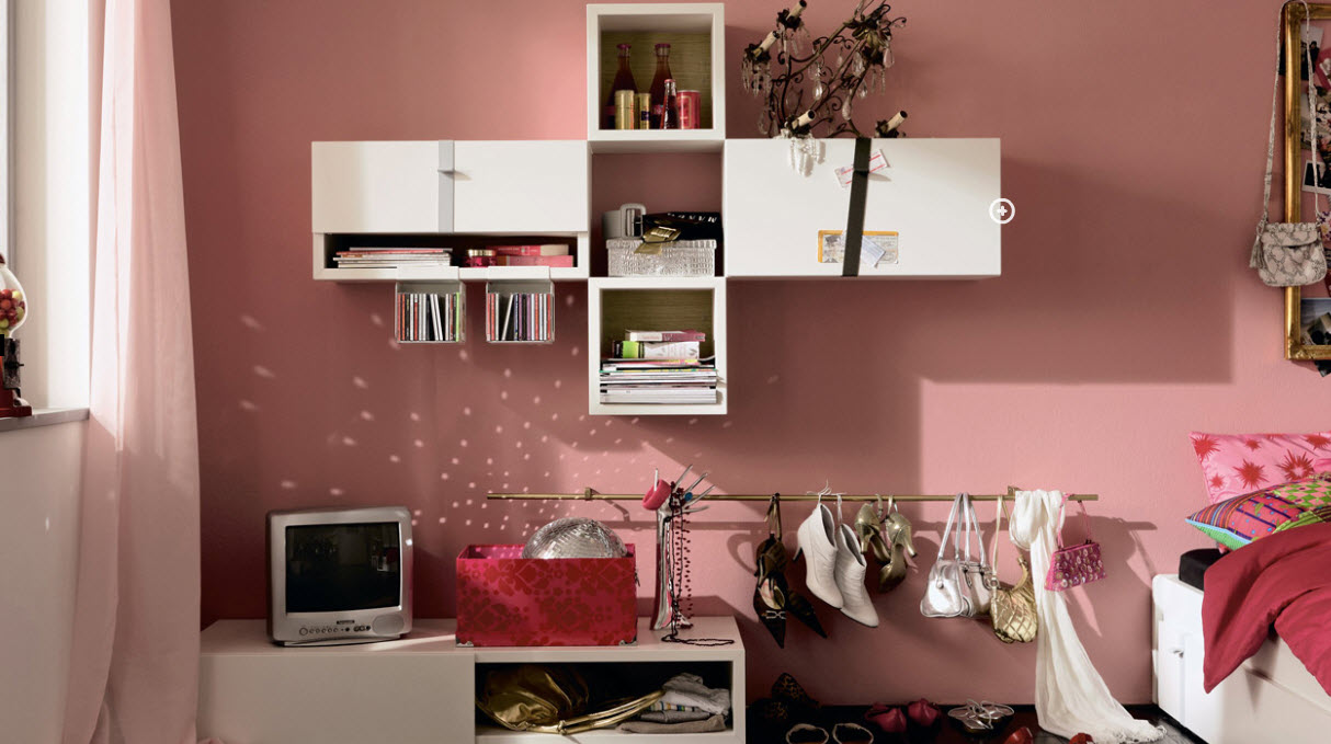 Trendy teen rooms Teenage bedroom wall designs