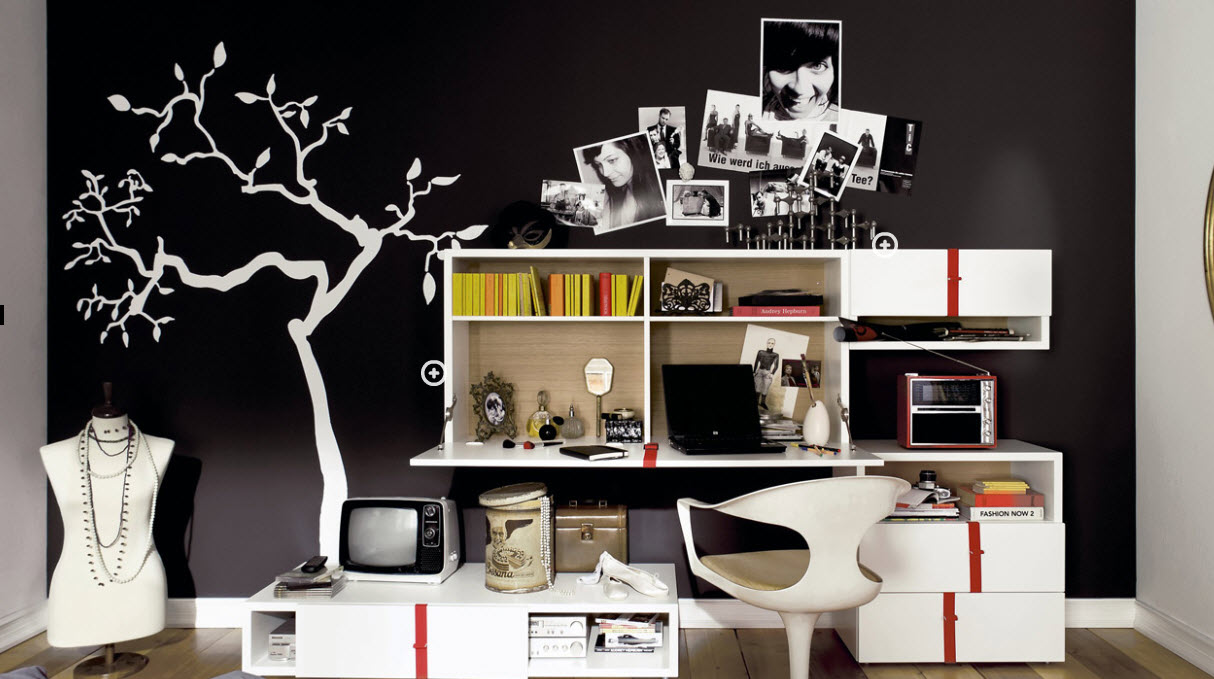 Trendy teen rooms for Poster jugendzimmer