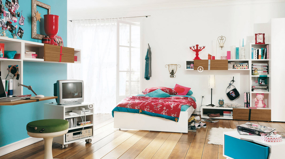 Teenage Rooms Prepossessing Trendy Teen Rooms Decorating Design