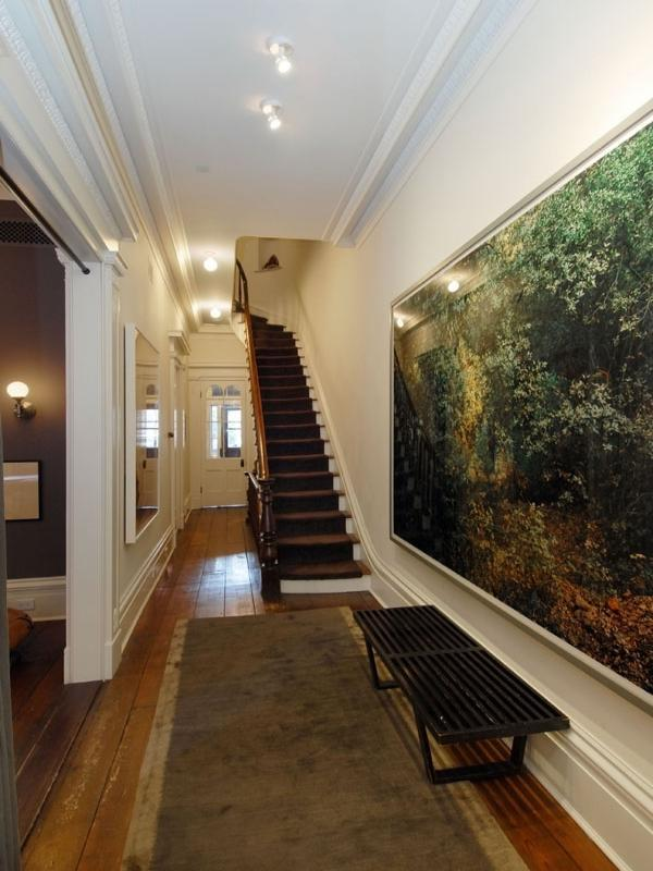 Foyer Ideas For Townhouse : Julianne moore s home in new york