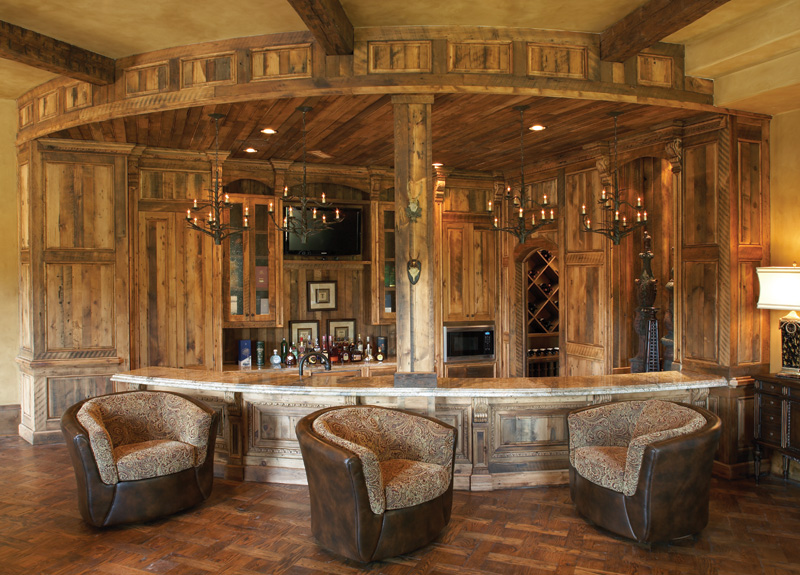 Bar Design Ideas For Home 25 contemporary home bar design ideas evercoolhomes dark wood modern bar Home Bar
