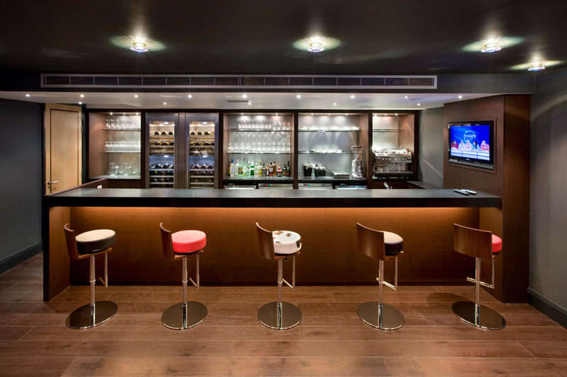 Home bar design ideas - Basement bar layout ideas ...