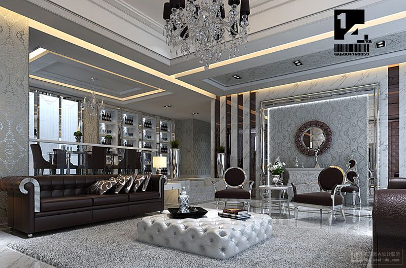 art deco asian living - Home Interior Design