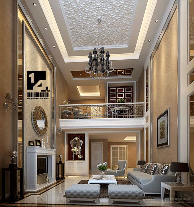 Modern chinese interior design for Luxury house plans with photos of interior