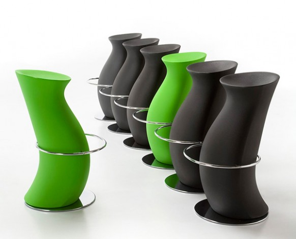 bar stools with a difference
