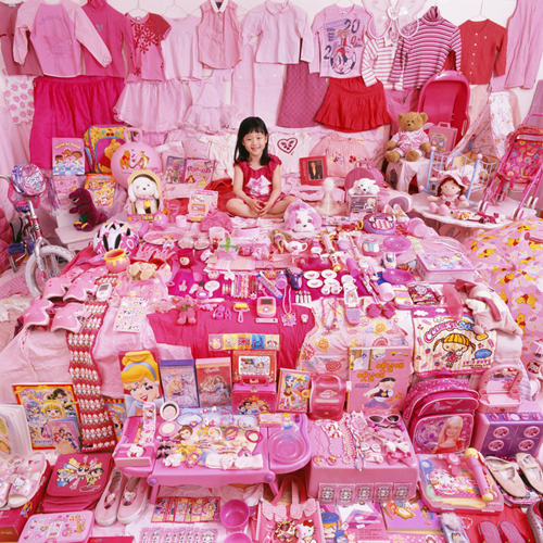 candy pink-girl's room