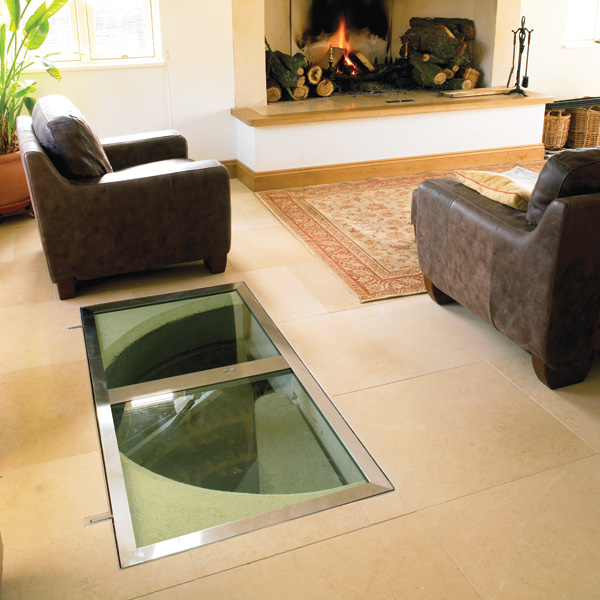 Trap door wine cellar designs for Wine cellar in floor