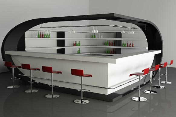chic bar design