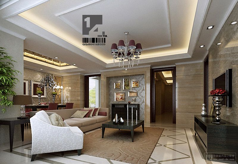 modern classic living room modern chinese interior design
