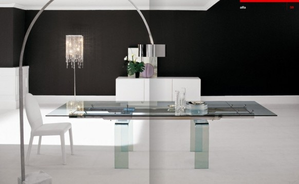 dining table at home
