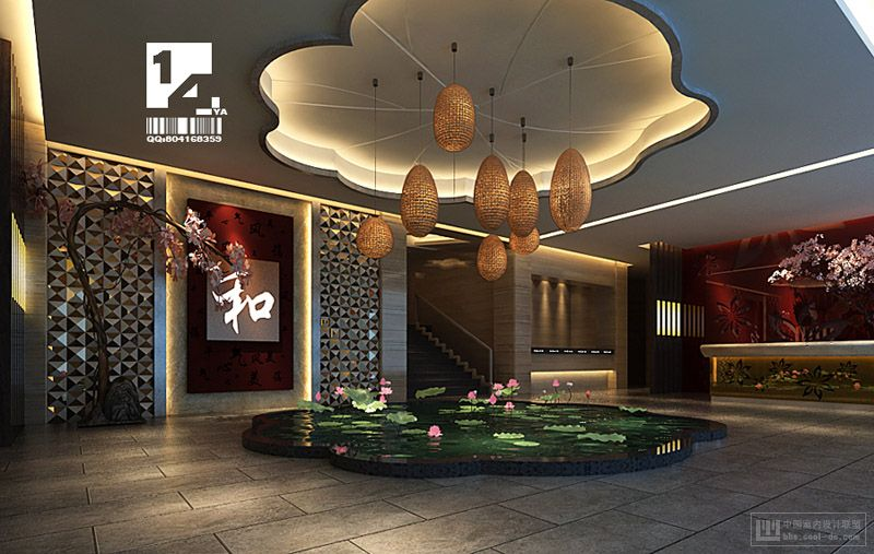 Modern chinese interior design for Chinese home designs