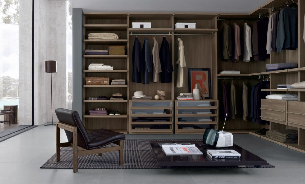Wardrobe furniture from misuraemme for Design a closet layout