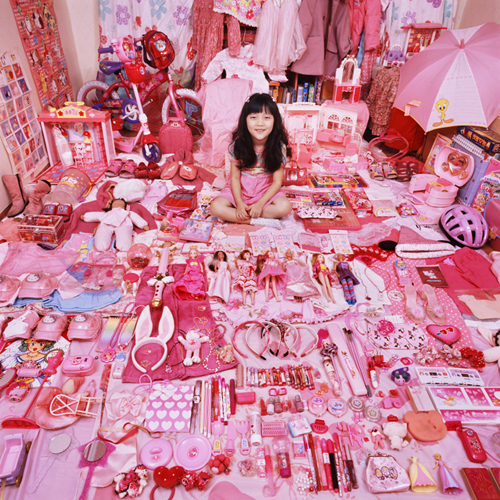 Pink Barbie Girls Room
