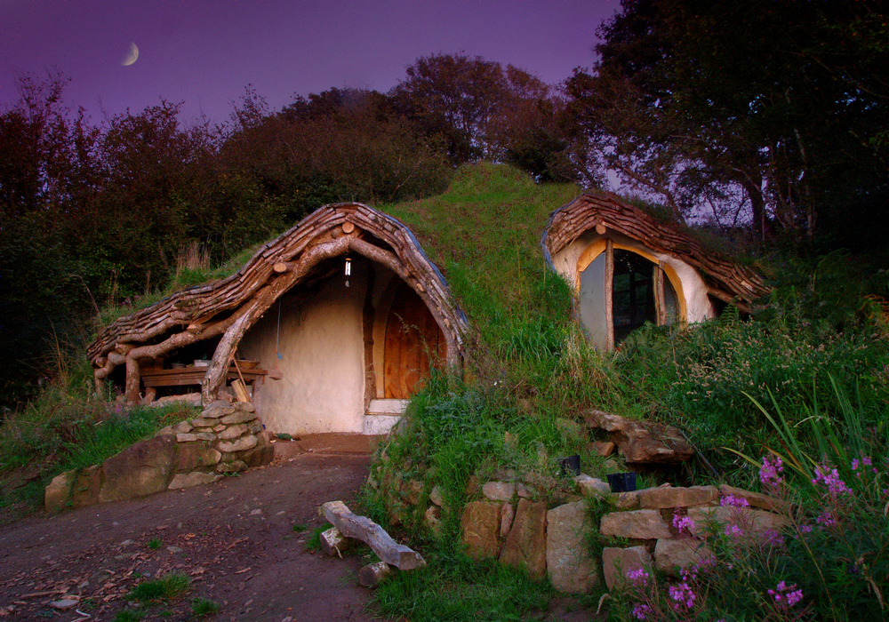 House That Looks Like Hobbits Home From Lotr