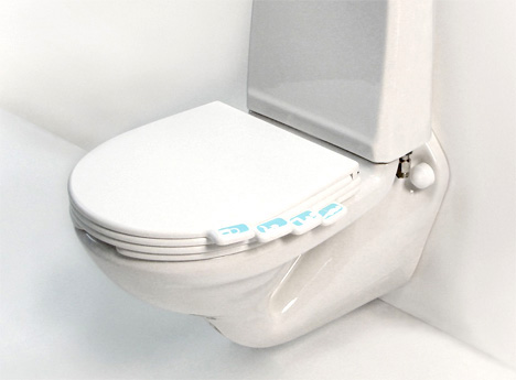 With The Flip Of A Switch Design Is Capable Swiveling Around It Self Sanitizes Using Steam And UV No More Dirty Toilet Seats