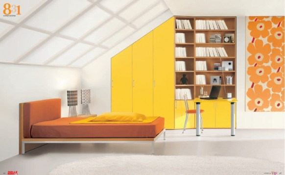Bright and sunny room