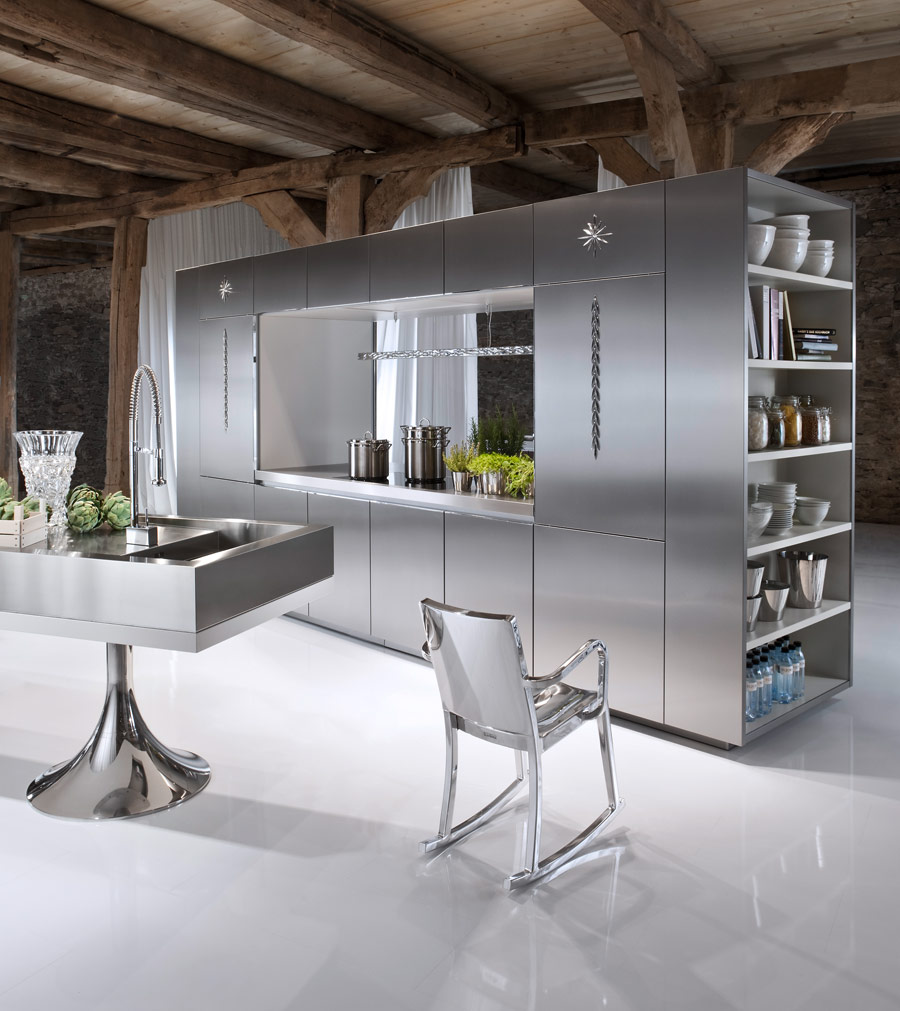 Philippe starck designs kitchens for warendorf for Kitchens by design