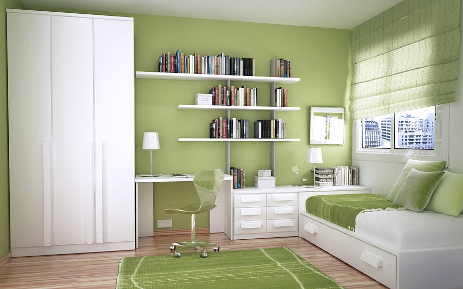 Space saving ideas for small kids rooms Study room ideas