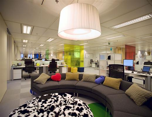 Design of google 39 s offices from around europe for Office design google