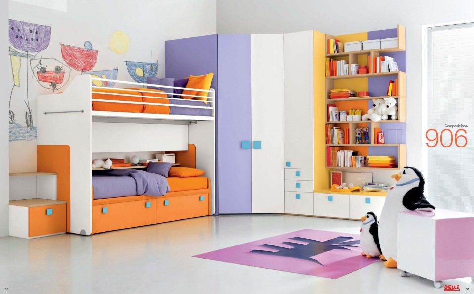 Kids Bedroom Outlet modern kids room furniture from dielle