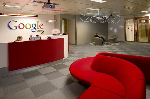 Design of google 39 s offices from around europe for Interior design firms europe
