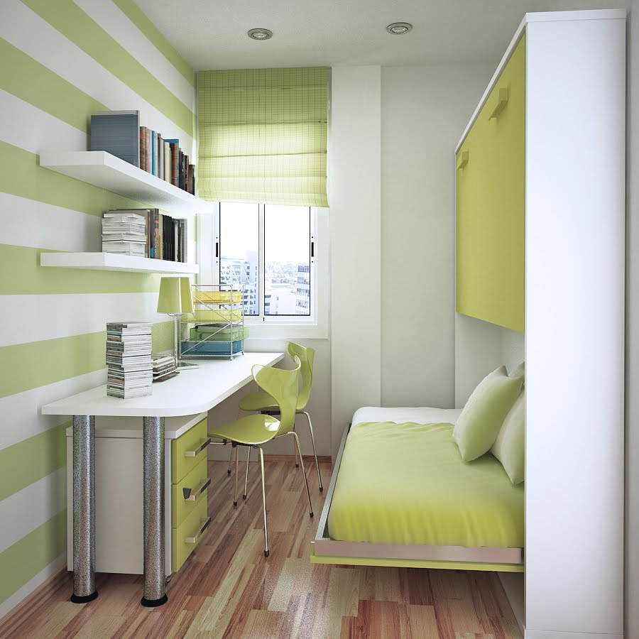 compact bedroom design. If you come across great space saving designs like these which think  need to be featured here at Home Designing please mention them in the comments Space Saving Ideas for Small Kids Rooms