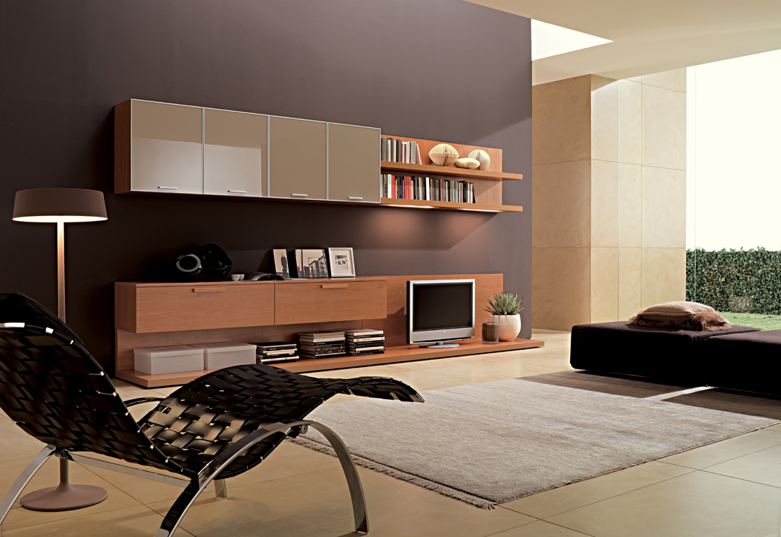 Living rooms from zalf for Simple apartment design