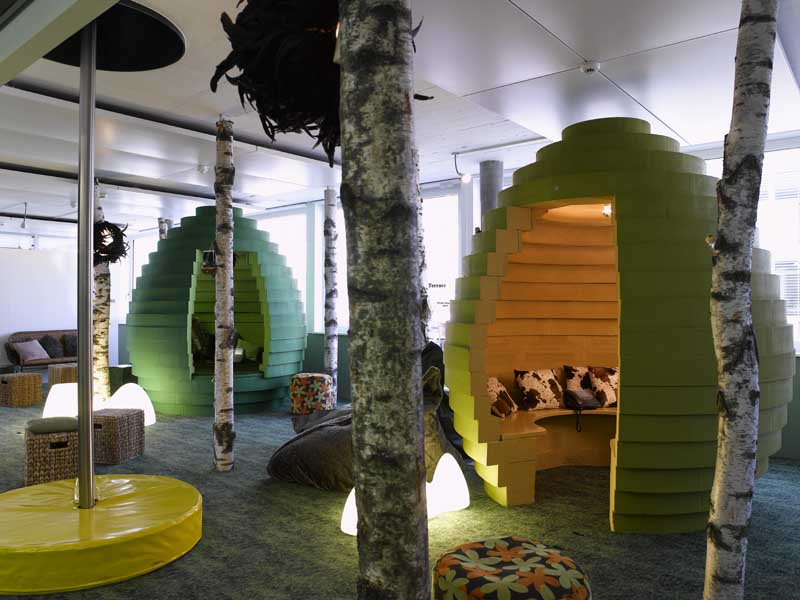 Design Of Google 39 S Offices From Around Europe