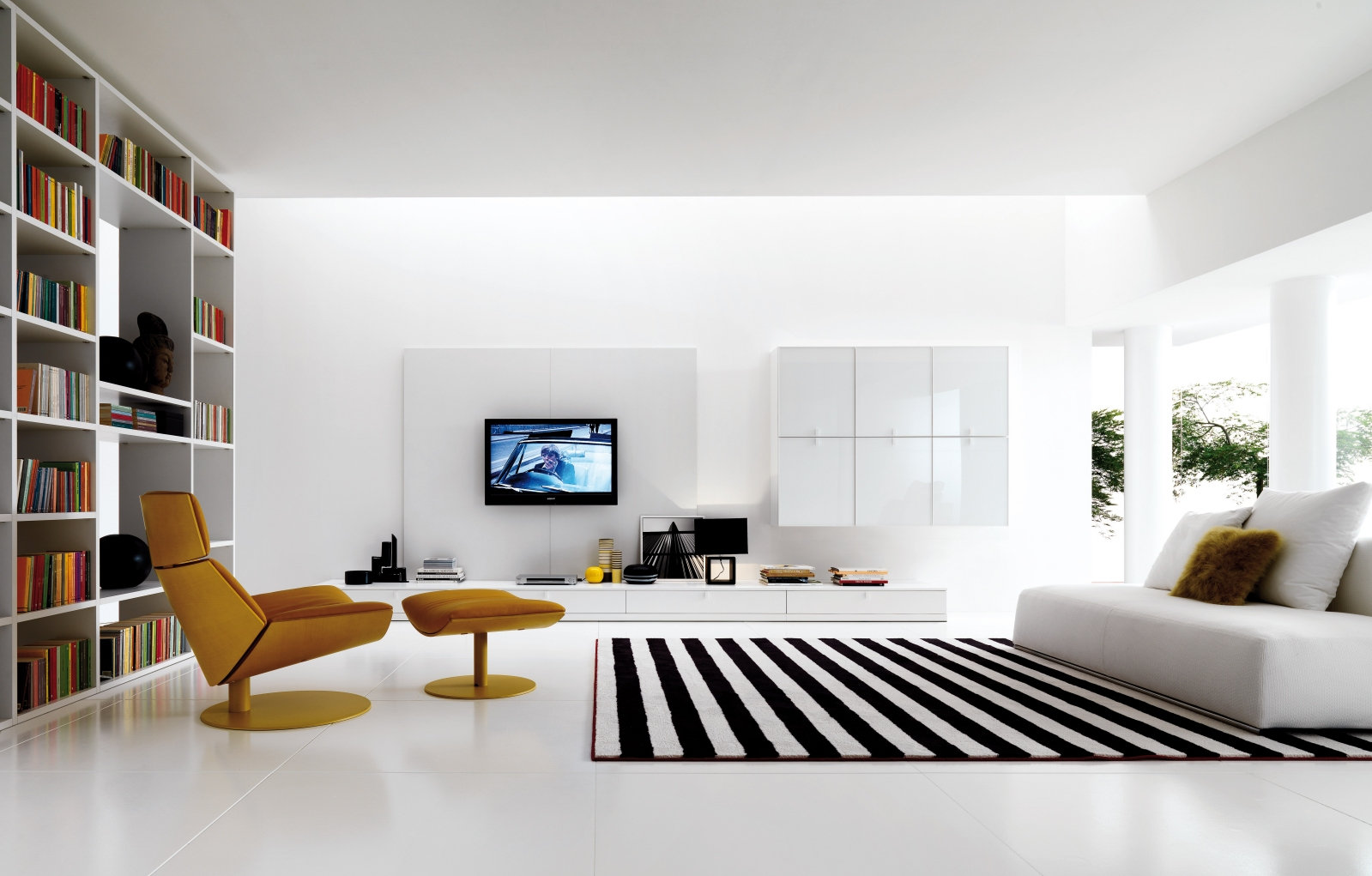 Living rooms from zalf Clean modern interior design